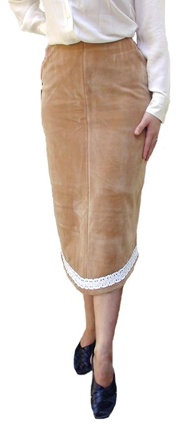 Diamond Camel Skirt