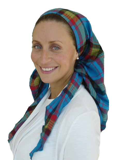Flannel  Triangular Scarf