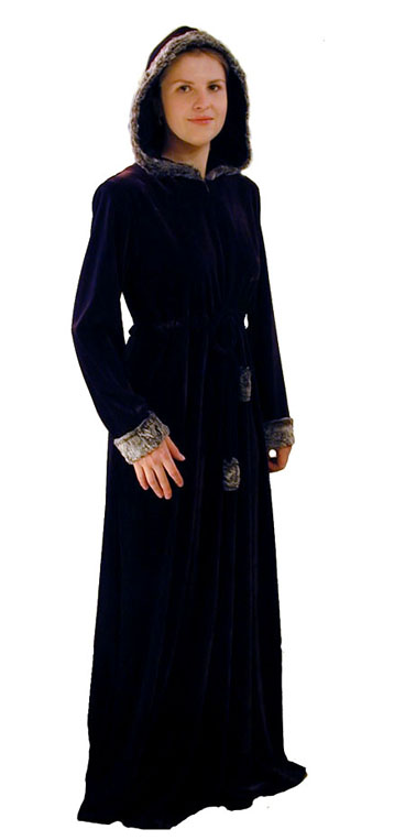 Velvet Cape with Trim <!-- 1181-V2V72 -->