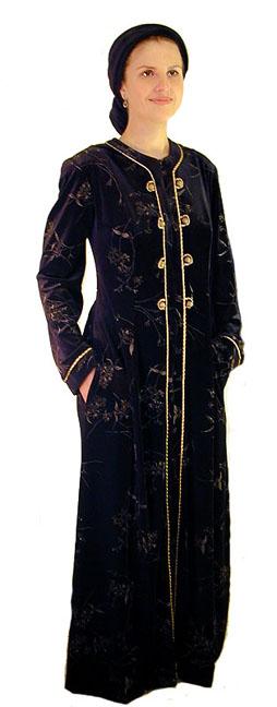 Oriental Velvet Robe <!-- 1063AV88 -->
