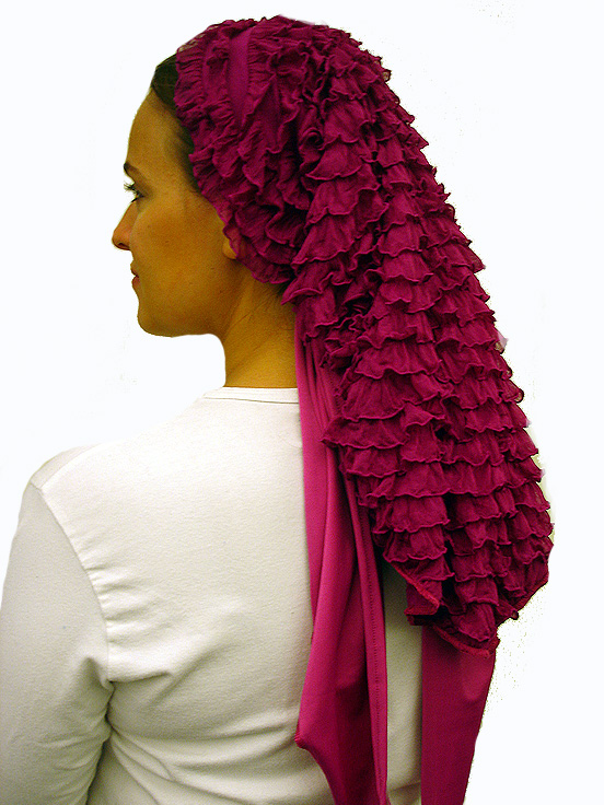 Couture Ruffled Scarf