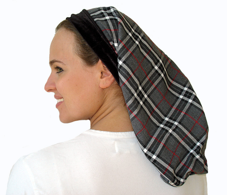 Burberry wool snood with velvet trim -3 colors